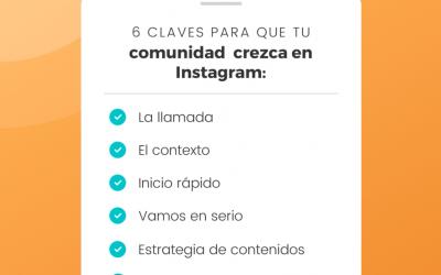 6 claves para crecer en Instagram